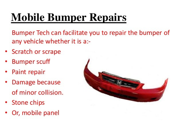Technology Management Image: Car Bumper Replacement Services In Brisbane At Very Low