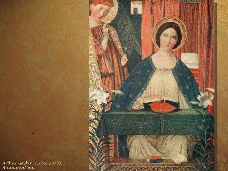 Arthur Gaskin (1862-1928), Annunciation