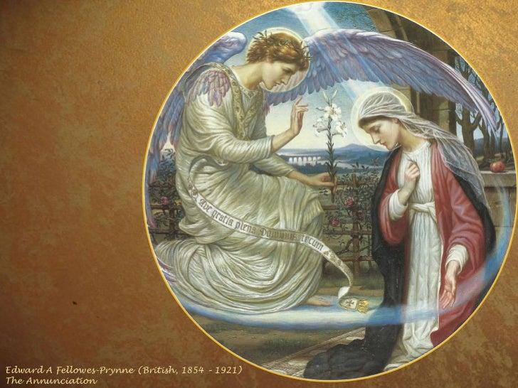 Edward A Fellowes-Prynne (British, 1854 – 1921) The Annunciation