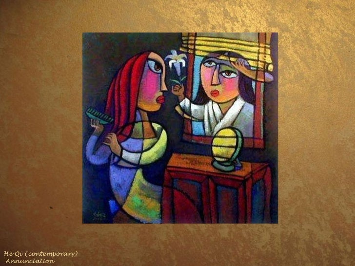 He Qi (contemporary) Annunciation