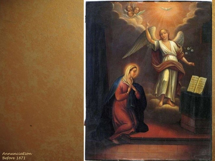 Annunciation  Before 1871