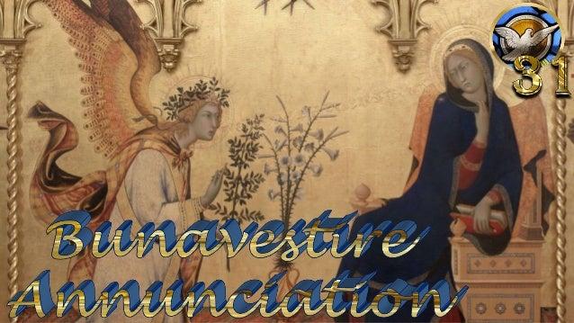 Simone MartiniandLippo Memmi The Annunciation and Two Saints (St. Margaret and St. Ansanus), 1333 Uffizi, Florence