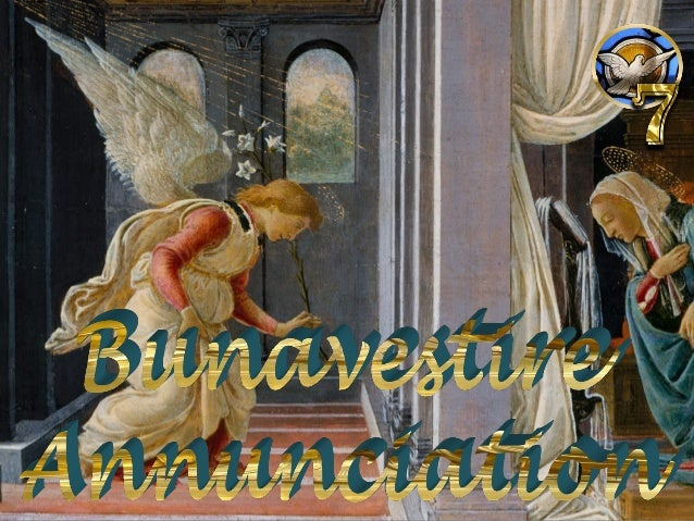 Ambrogio Lorenzetti, Annunciation (1344), Pinacoteca Nazionale, Siena