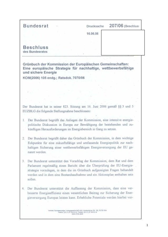 Bundesrat Slide 1