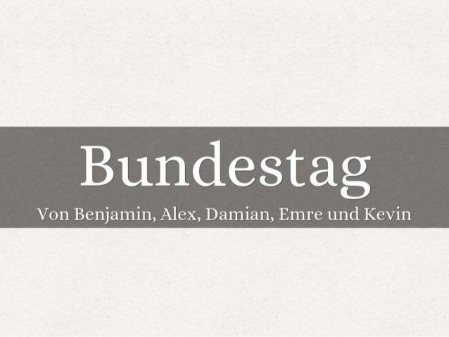 Bundestag (1)