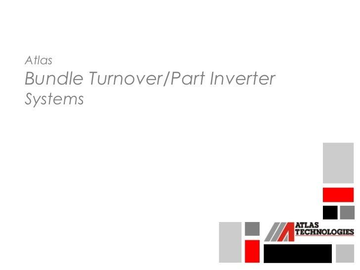 AtlasBundle Turnover/Part InverterSystems