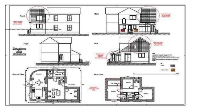 Bungalow ppt for grade 10 for Bungalow plans and elevations