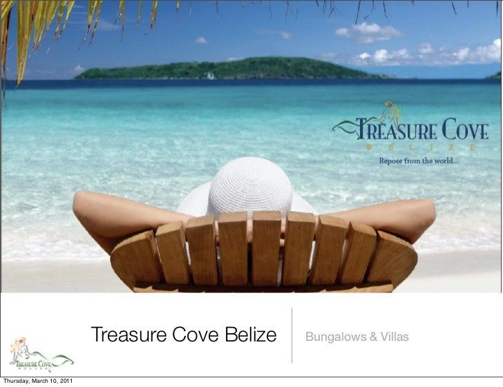 Treasure Cove Belize   Bungalows & VillasThursday, March 10, 2011