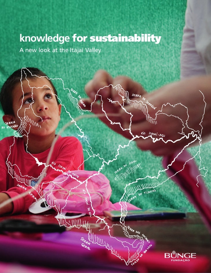 knowledge for sustainabilityA new look at the Itajaí Valley