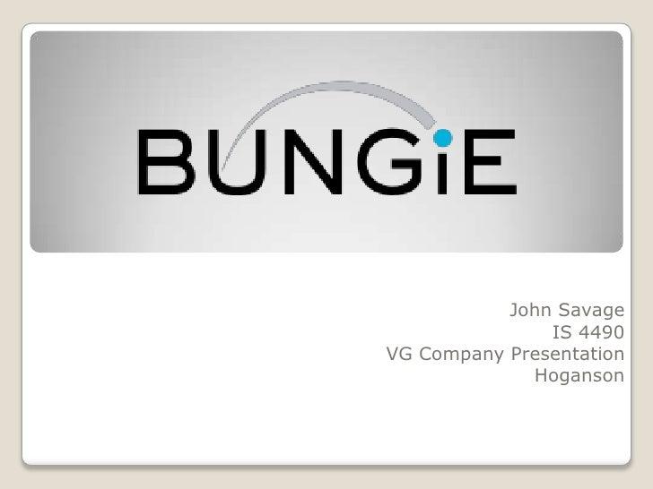 John Savage<br />IS 4490<br />VG Company Presentation<br />Hoganson<br />