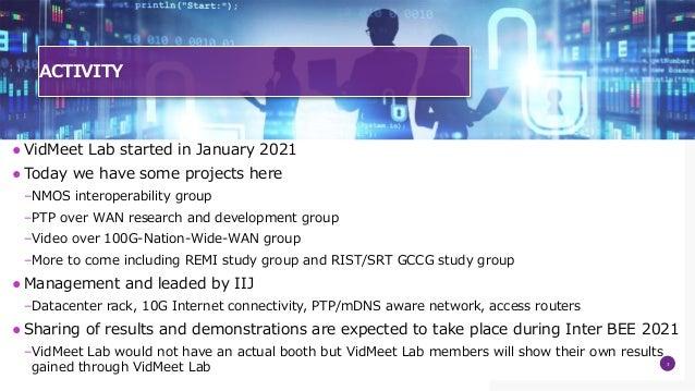 Introducing VidMeet Lab Slide 3