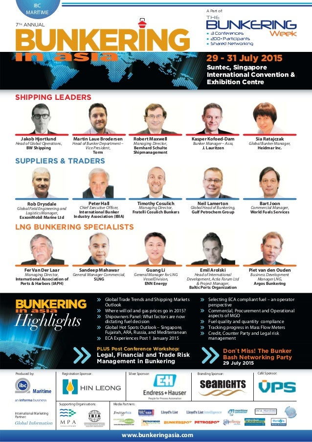 7th Annual Bunkering in Asia 2015