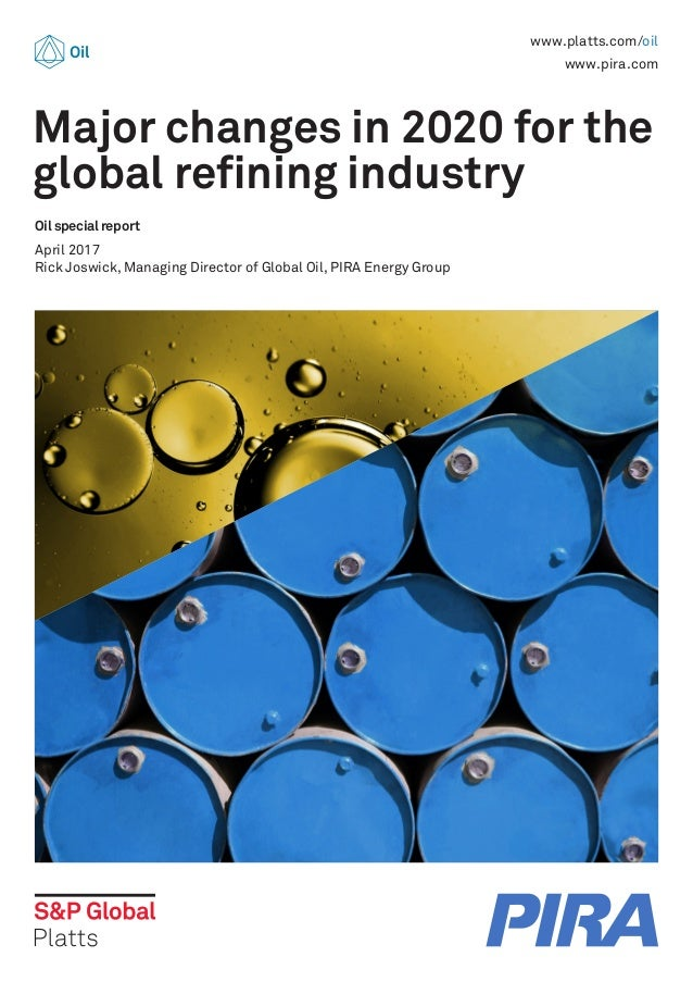 Major changes in 2020 for the global refining industry