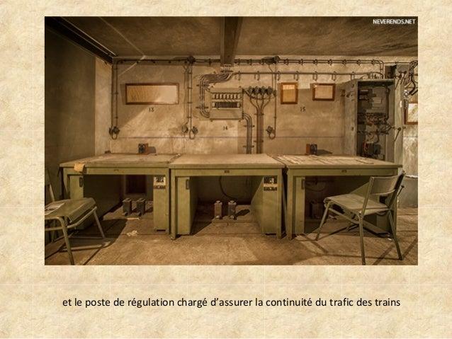 Bunker sous la gare de l 39 est paris - Bureau de poste gare de l est ...