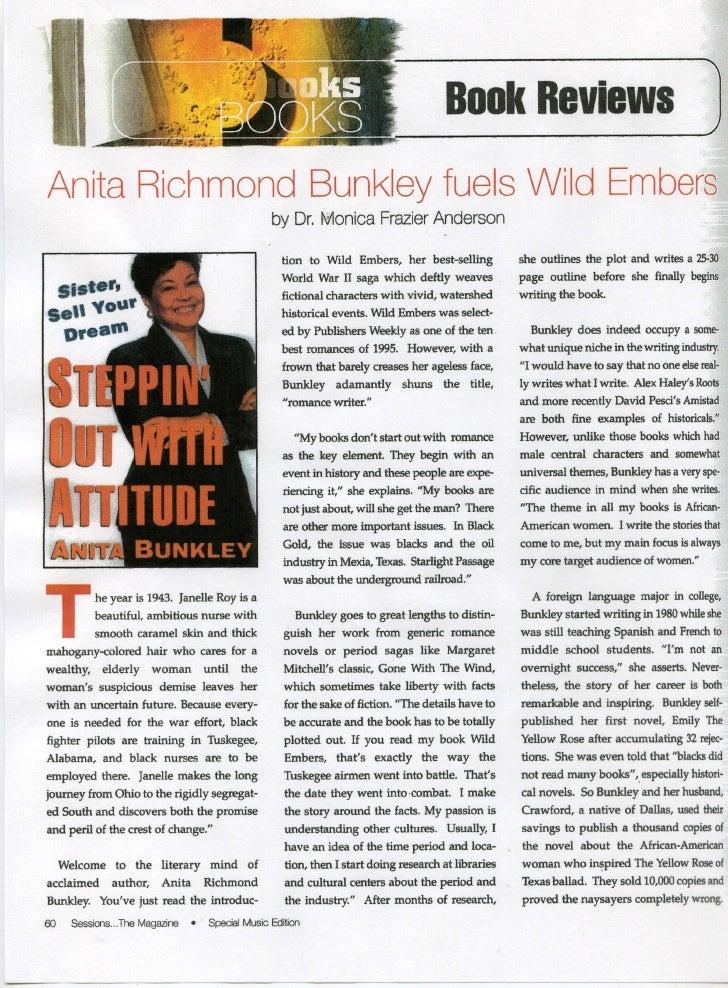 Anita Bunkley Book Review