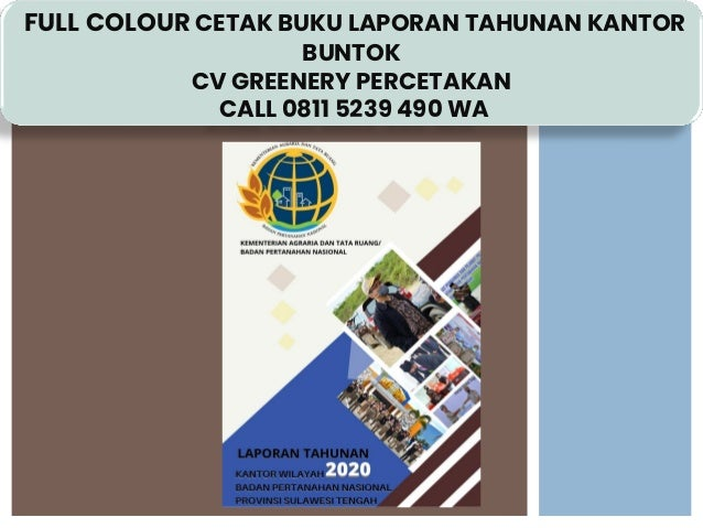 terbaik call 0811 5239 490 wa cetak buku laporan tahunan kantor buntok 1 638
