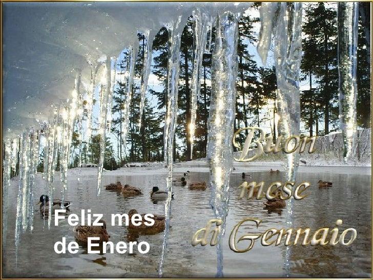 Feliz mes  de Enero