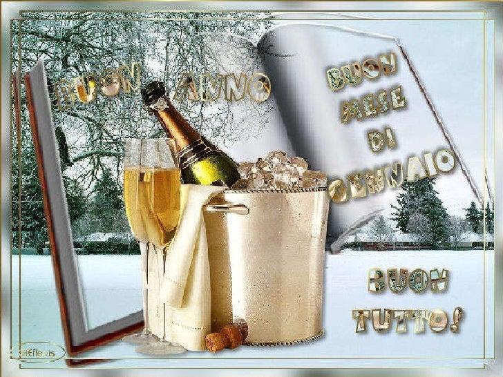 Buon Anno E Buon Mese Di Gennaio