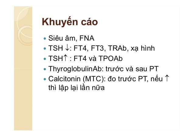 Tài liệu tham khảo  Ka H Y (2016). The Revised 2016 Korean Thyroid Association Guidelines for Thyroid Nodules and Cancers...