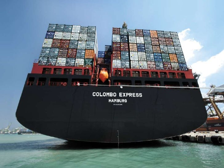 Buques containeros - Contenedores de barco ...