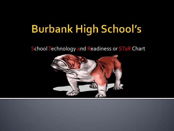 Burbank High School's<br /> School Technology and Readiness or STaR Chart<br />
