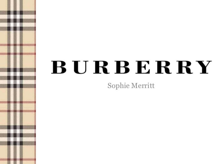 burberry case study ivey