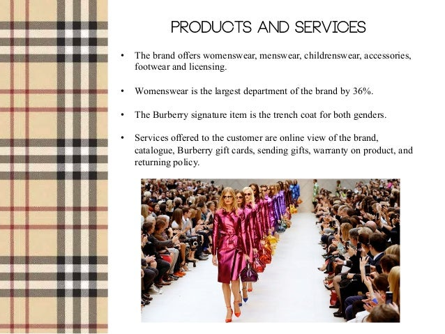 burberry case study Burberry is a british fashion clothing brand started by thomas burberry in 1856 it was to his credit that he started the business.