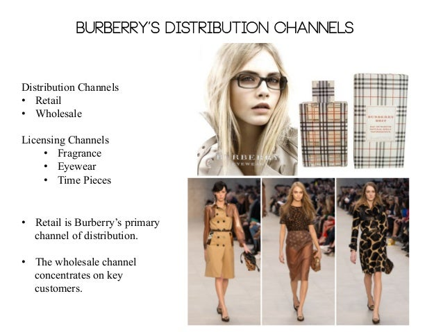 Burberry distribution channels