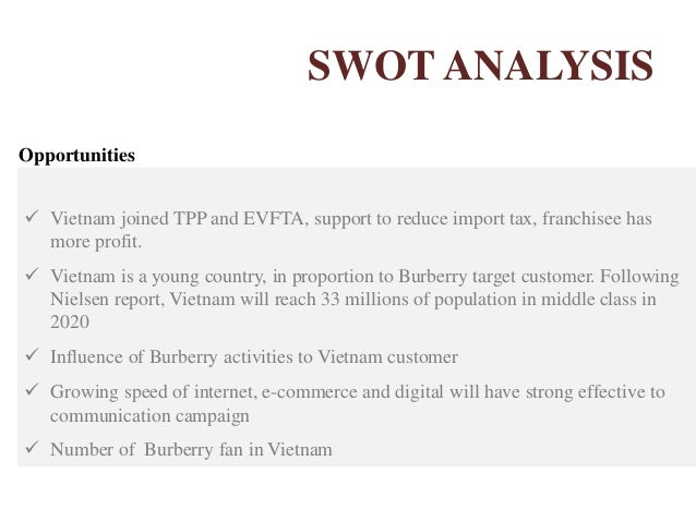 swot analysis of burberry Burberry group plc (brby) - financial and strategic swot analysis review burberry group plc (brby) - financial and strategic swot analysis review - provides - market.