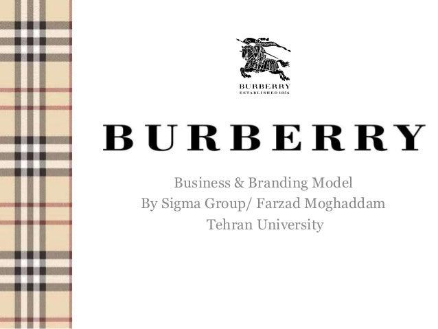 Business & Branding Model By Sigma Group/ Farzad Moghaddam Tehran University