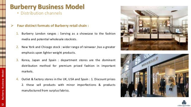 burberry outlet england aour  51BurberryBusinessModel Burberry Business Model  Distribution channels; 52