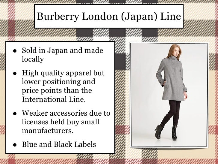 burberry consumer profile report Burberry investigative report and competitors  customer profile burberry targets traditional individuals as  essay about burberry consumer profile report.