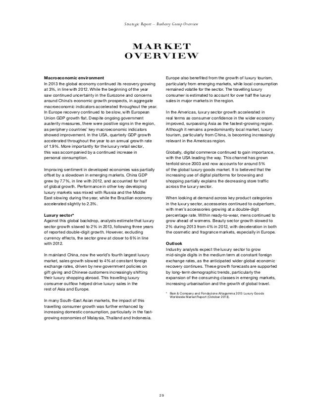 burberry strategic analysis Our very own analysis of the classic burberry case documents similar to burberry harvard case burberry strategic management.