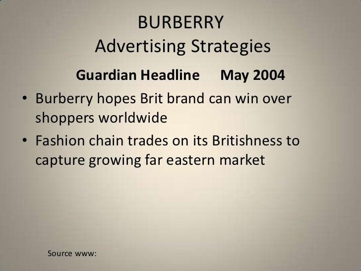 c16ab5ac7f66 Burberry Brand Strategy