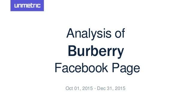d1a2c447678 Burberry Facebook Page