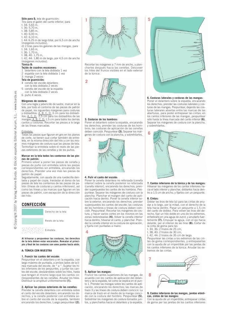 Isabel Rosas Torres - Burda e 957 costura fácil modelo para descarg…
