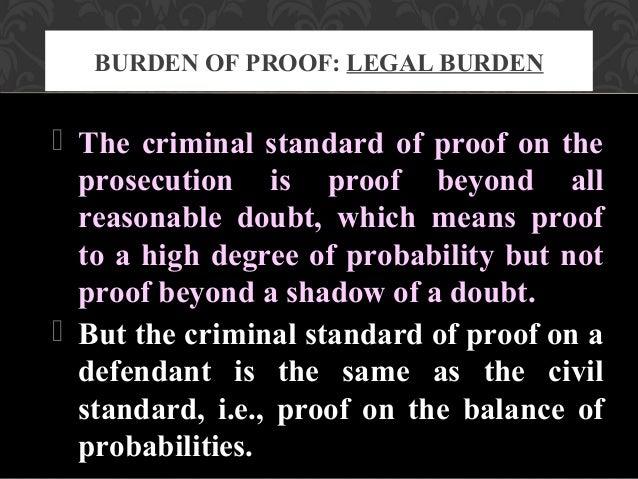 preponderance of probability definition