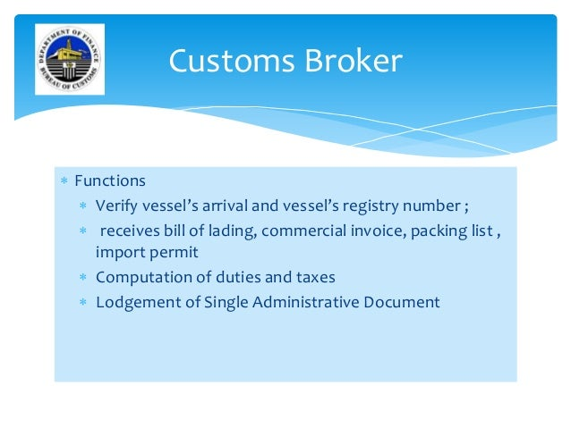 philippines bureau of customs Importing personal property into philippines of filing of the customs permit with the bureau of customs from which it could be extended only for another 90 days.