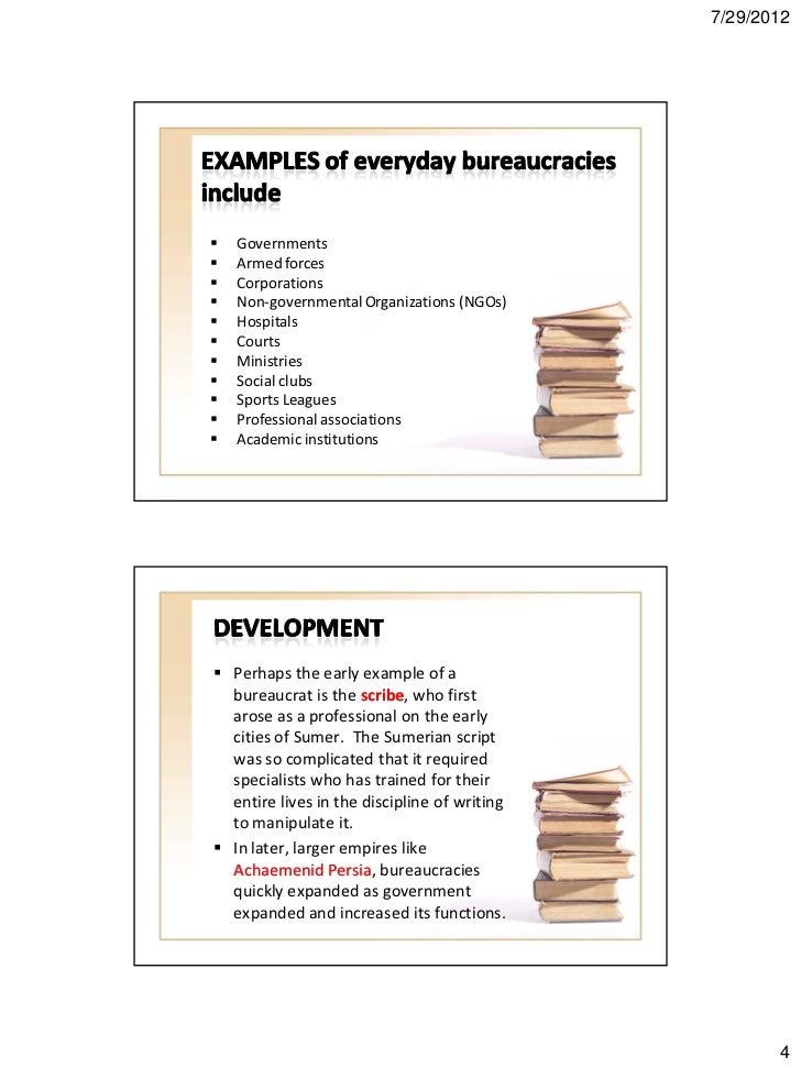 Bureaucracy Handouts