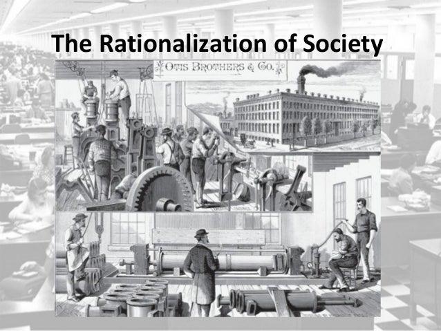 essays weber rationalization