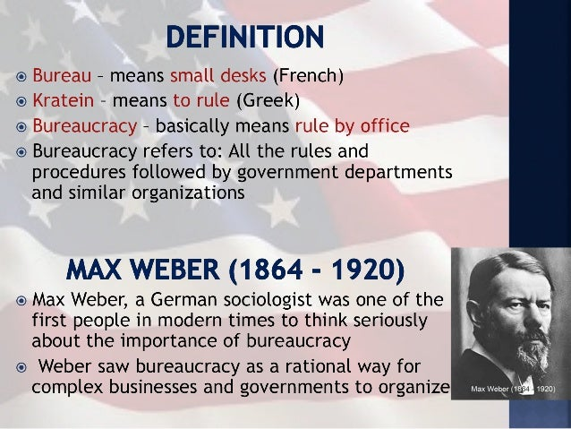the components and characteristics of bureaucracy Principal characteristics of the weberian because some certain characteristics of bureaucracy cannot be avoided in communications within components.
