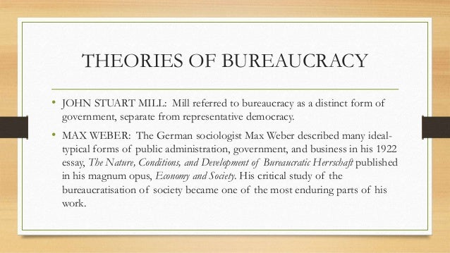 Essay on bureaucracy