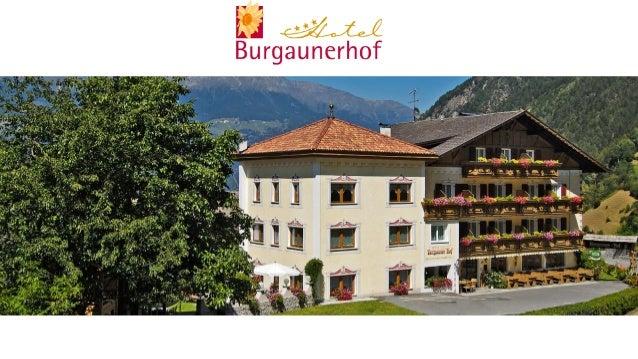 Hotel Burgaunerhof Martelltal