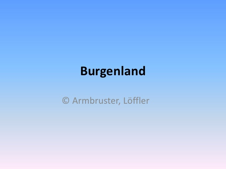 Burgenland<br />© Armbruster, Löffler<br />