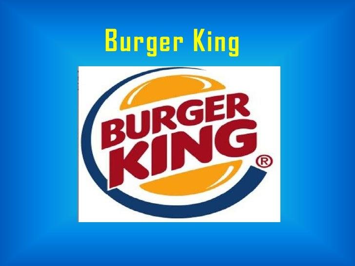 Burger king case study ppt