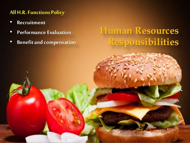 Human Resource Management of Burger King Holdings