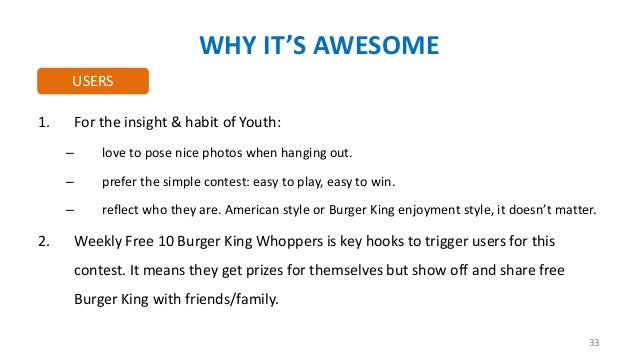 WHY IT'S AWESOME USERS 1.  For the insight & habit of Youth: – –  prefer the simple contest: easy to play, easy to win.  –...