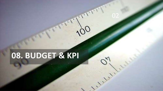 02  08. BUDGET & KPI  57