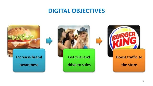 DIGITAL OBJECTIVES  Increase brand  Get trial and  Boost traffic to  awareness  drive to sales  the store  7
