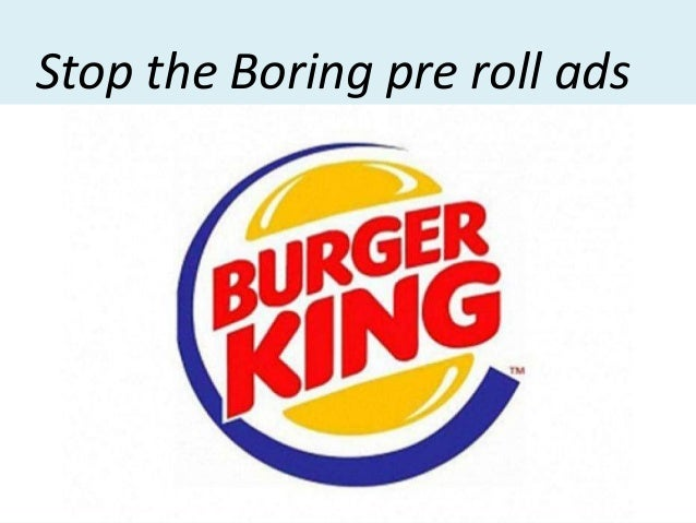Stop the Boring pre roll ads